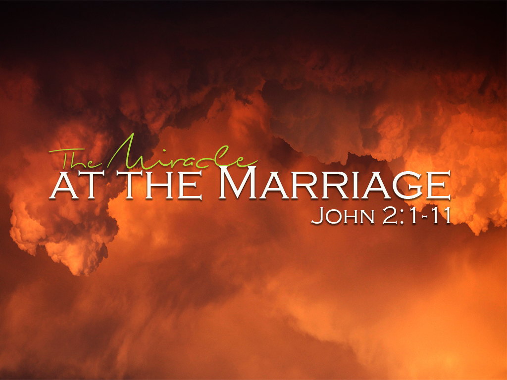 The Miracle at the Marriage